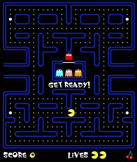 pac-man _online game